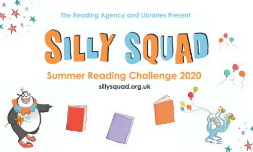 Silly Squad - Summer Reading Challenge 2020 Banner