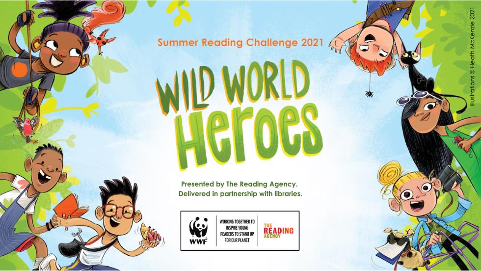 Summer Reading Challenge 2021 - Wild World Heroes