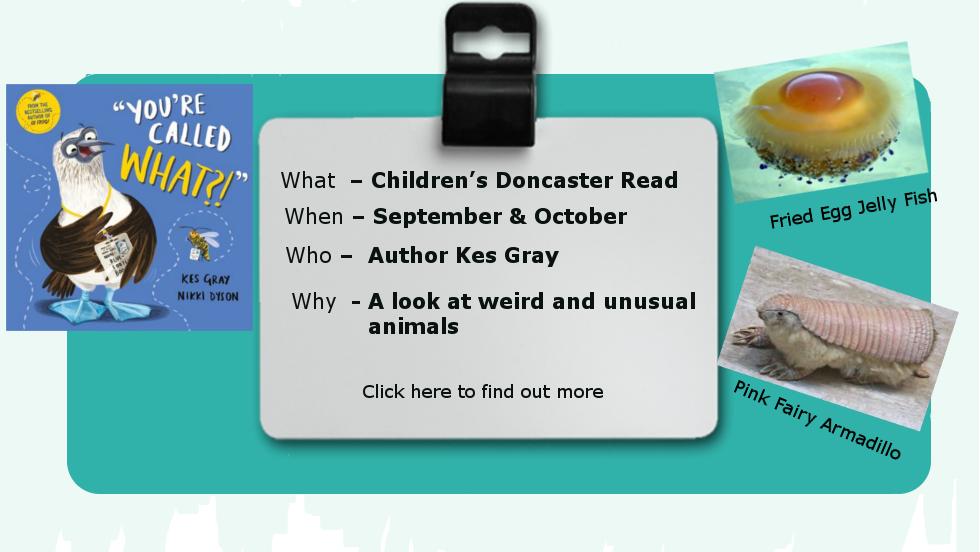 Children's Doncaster Read for September & October 2018
