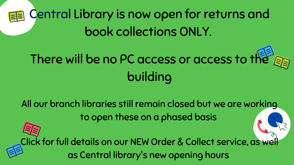 Central Library Reopening