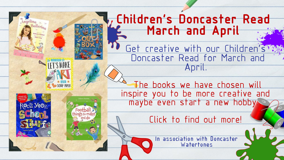 Children's Doncaster Read for March & April 2018