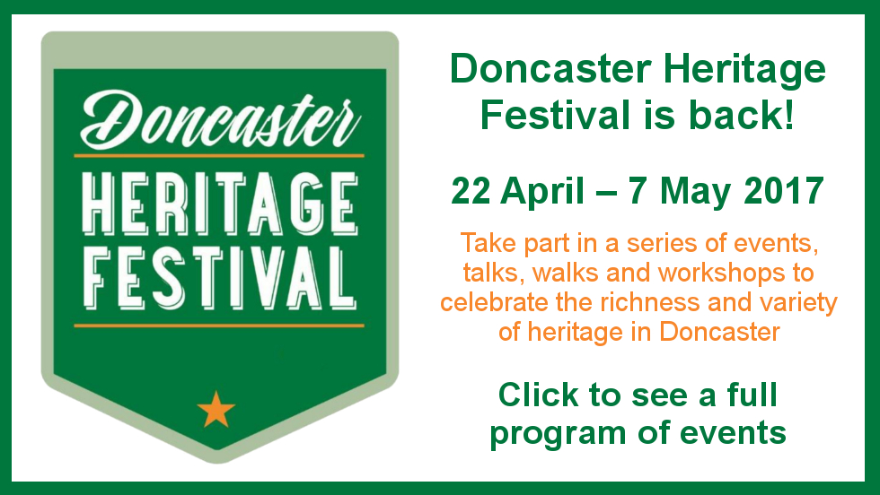 Doncaster Heritage Festival is back 2017