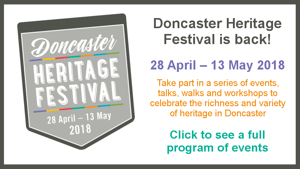 Doncaster Heritage Festival 2018 is Back