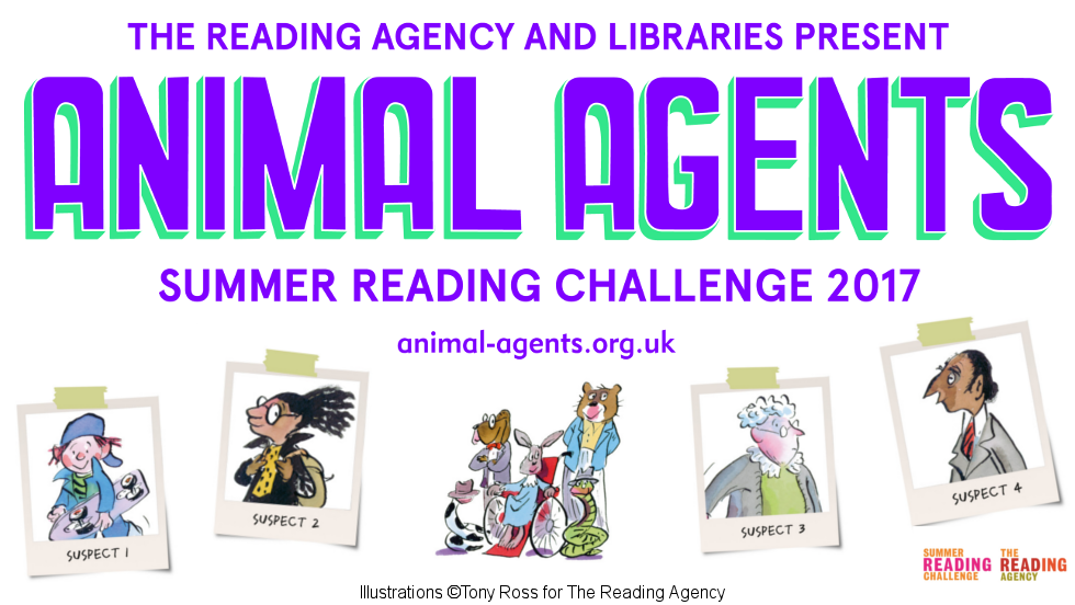Animal Agents - Summer Reading Challenge 2017