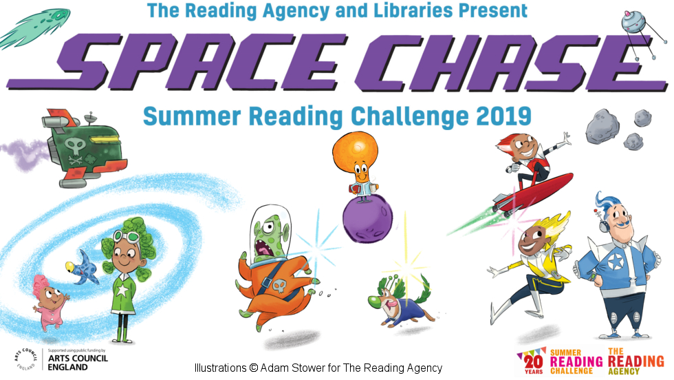 The Space Chase - Summer Reading Challenge 2019