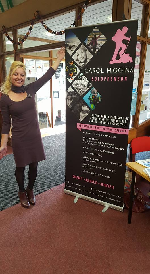 Author Carol Higgins at Woodlands Community Library and Hub