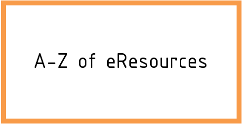 A to Z of eResources